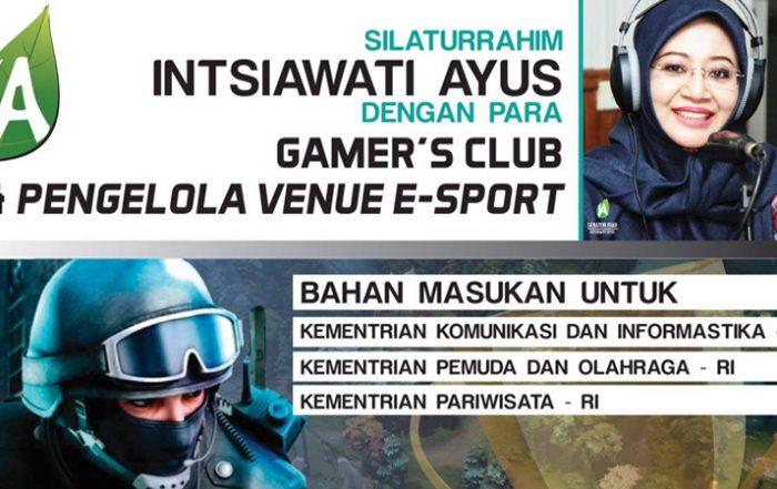 Intsiawati Ayus akan Serap Aspirasi Gamers Riau