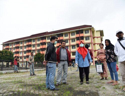 Kunjungi Rusunawa Rejosari, Intsiawati Ayus Nilai Belum Siap Jadi Tempat Isolasi Suspect Covid19
